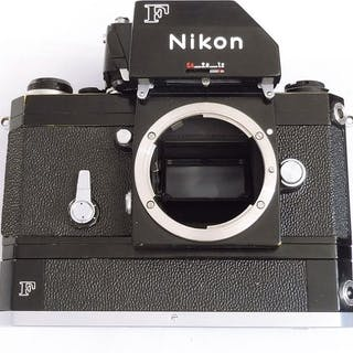 NikonF black with motor F36
