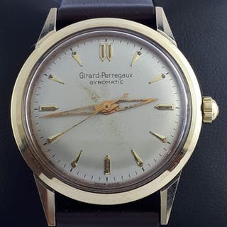 "Girard-Perregaux - Gyromatic - ""NO RESERVE PRICE"" - Men - 1960-1969"