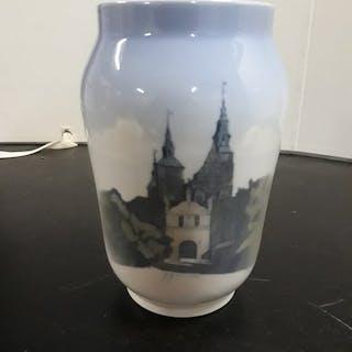 "Royal Copenhagen - Vaso / Vase ""Rosenborg Castle""  - Porcellana"