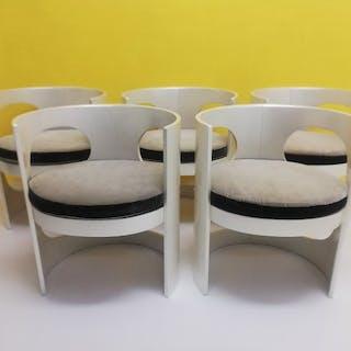 Arne Jacobsen - Asko - Esszimmerstuhl, Esstisch (6) - Prepop