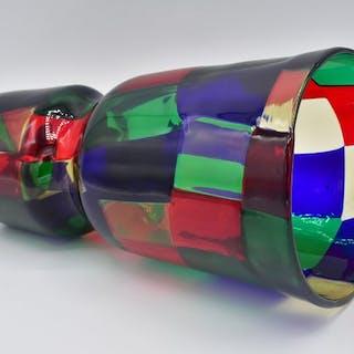 Fulvio Bianconi  - Venini - Vaso - Vetro (vetro colorato)