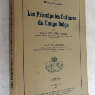 Marcel Van den Abeele- Les principales cultures du Congo Belge - 1951