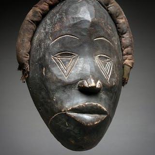 Grand masque d'initiation - Bois - Dan - Côte d'Ivoire