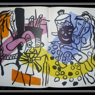 Pierre Descargues - Fernand Leger - 1955