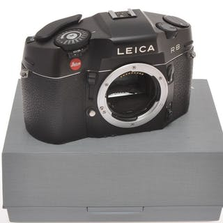 LeicaR8 body black finish, nice reflex 35mm, exc+++ with box