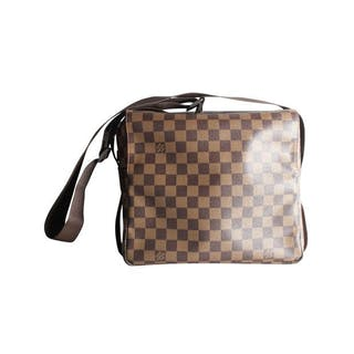 Louis Vuitton - Damier Ebene Canvas Naviglio Messenger Bag Borsa a spalla
