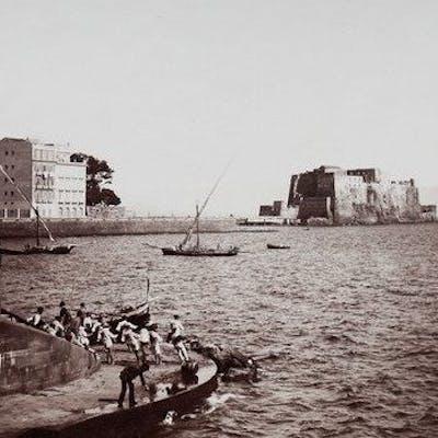Giorgio Sommer (1834-1914)  - Napoli scena di pescatori, 1870's