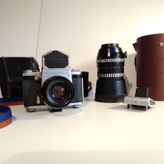 Pentacon Six TL + Carl Zeiss Jena Biometar 80mm F2.8 + Sonnar 180mm F2.8