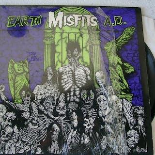 Misfits - Earth A.D. - Wolfs Blood  - Album LP - 1983