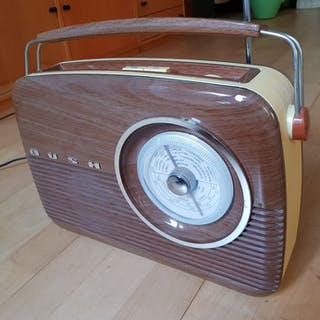 Bush - TR82 Wood Retro radio - Tragbares Radio