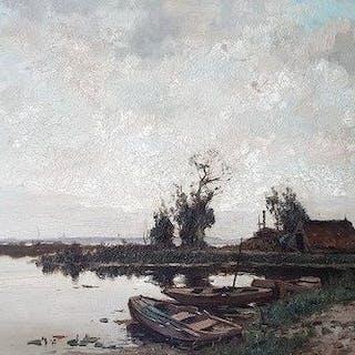 A.J. Zwart ( 1903-1981) - Impressionistisch...