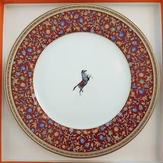 Hermes - Lastre, Cheval d'Orient (6) - Porcellana