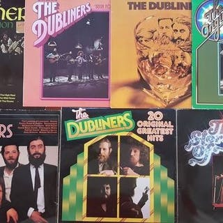 Dubliners - The best Irish Folk 6 x LP and 1 x double LP...