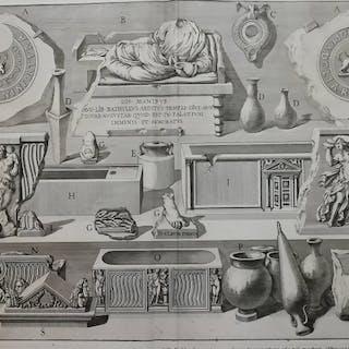 """Giovanni Battista Piranesi (1720-1788) - 1 plate from """"Le antichità romane"""""""