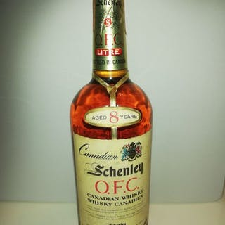 Schenley 1973 8 years old OFC - Canadese Whisky - Official bottling - b