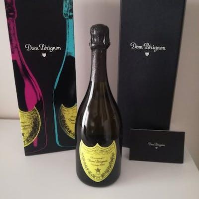 2002 Dom Perignon Ltd Ed. Andy Warhol Yellow - Champagne - 1 Bottiglia (0.75L)