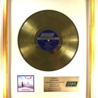 """Rolling Stones - """"Get Yer Ya's Ya's Out!"""" LP Gold Record..."""