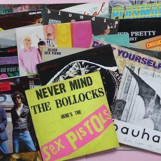 Lot of 25 (!) punk and wave albums - Diverse Künstler - Blondie