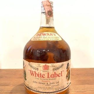 """Dewar's """"White Label"""" Fine Scotch Whisky - b. 1970er Jahre - 2 l"""