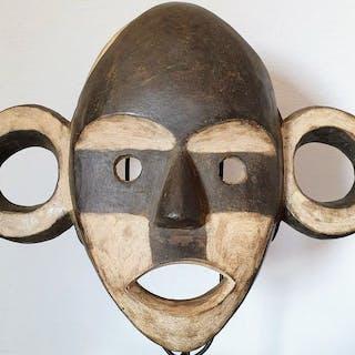 Masque - Bois dur - Bakongo - Congo RDC