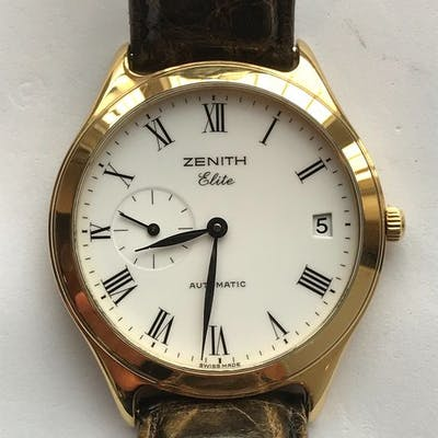"Zenith - Elite Gold 18K - ""NO RESERVE PRICE"" - 30 0040 680 - Homme - 2000-2010"