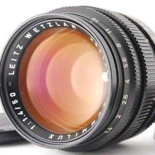 Leica (Leitz) Summilux M Mount 50mm f1.4 Black E43 Lens From Japan 1260
