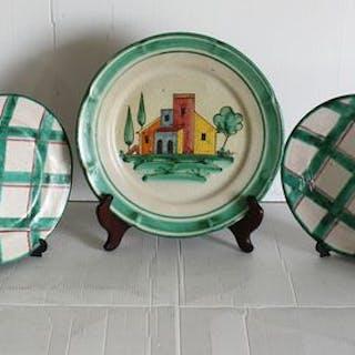 Ceramiche di Vietri - Teller (5) - Keramik