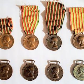 Italia - Medaglia commemorativa della guerra italo...