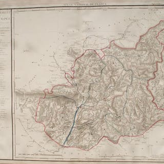 Francia, Departement Basses-Alpes; P