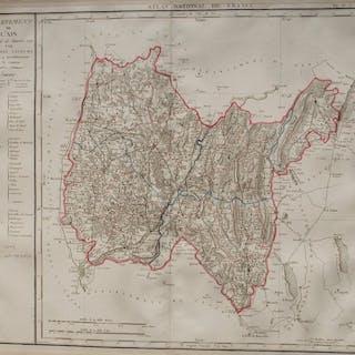Francia, Dipartimento Ain; P. Chanlaire - Département De L'Ain - 1781-1800