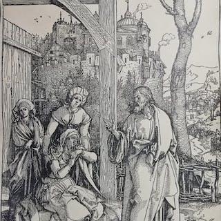 """Albrecht Dürer (1471-1528) - """"Il commiato di Gesù dalla..."""