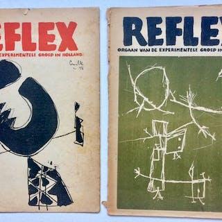 CoBrA - Reflex nr. 1 und 2 - 1948/1949