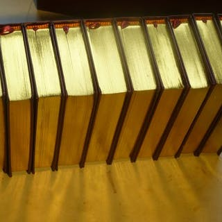 William Shakespeare- TheShakespeare library : 10 vol boxed set - 1950