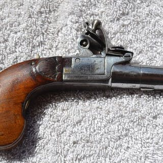 France - silex - Pistolet