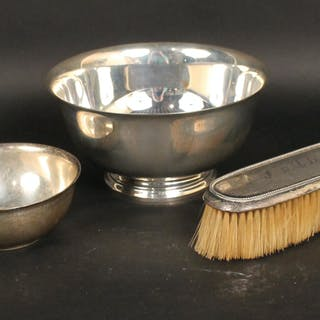 Tiffany Sterling Silver Revere Style Footed Bowl