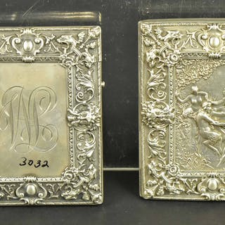 Two William Kerr Silver Cigarette Cases