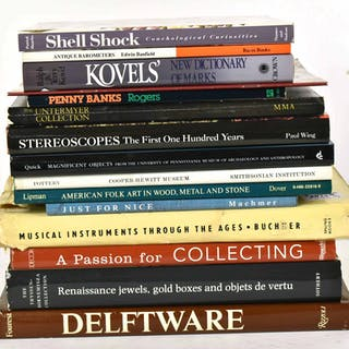 Fifteen Books on Collectibles