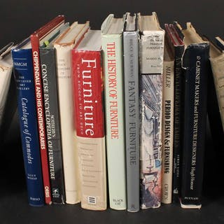 Eighteen Assorted Books on Antique Furniture