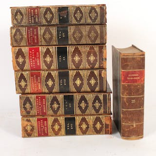 "Six Volumes of ""The American Stud Book"""