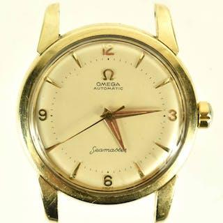 Vintage 1960s Omega Triple-Signed Seamaster