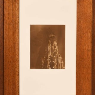 Photograph Portrait of a Native American Chief
