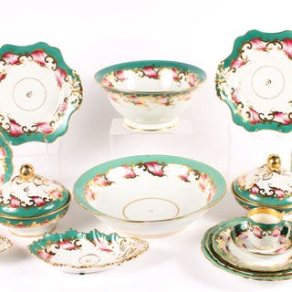 Continental Porcelain Dinner Service