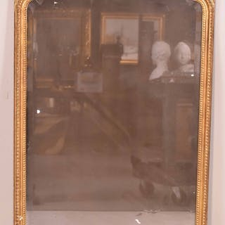 George II-Style Giltwood Looking Glass