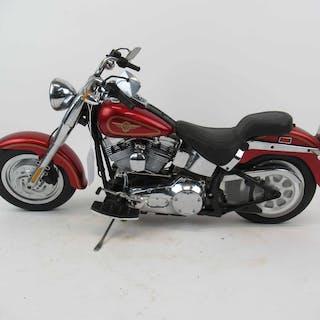 New Bright R/C Harley Davidson Fat Boy Motorcycle
