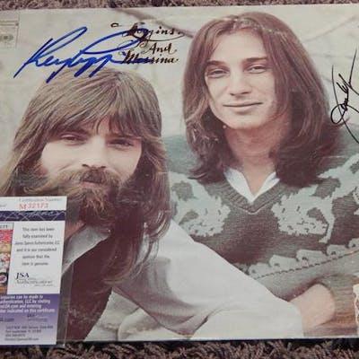 Loggins and Messina Signed LP JSA