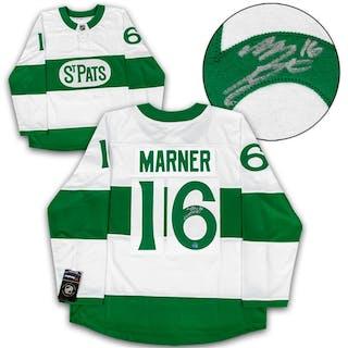Mitch Marner Toronto St Pats Signed Maple Leafs Heritage Fanatics Hockey Jersey