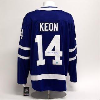 Dave Keon Toronto Maple Leafs Autographed Fanatics Hockey Jersey
