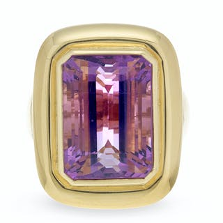 Large Amethyst Ring
