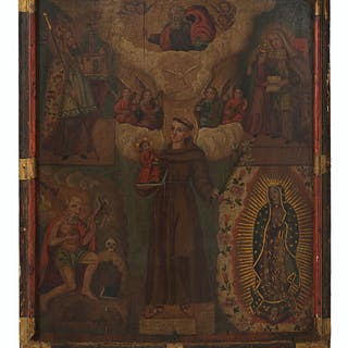 Religious Painted Panel