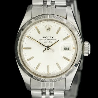 Lady's Rolex Stainless Steel Date Wrist Watch